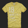 Abercrombie men Yellow T-shirt
