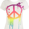 Paint Drip Peace Tee
