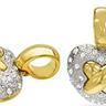 RUCINNI Exquisite Brand New Heart Pendant With Genuine Swarovski