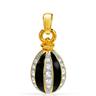 RUCINNI Terrific Brand New Pendant With Genuine Swarovski Crystals