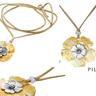 PILGRIM SKANDERBORG, DENMARK Stunning Brand New Necklace With Precious Stones