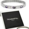 NOMINATION ITALY Exquisite Brand New Three-stone Bracelet