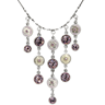 PILGRIM SKANDERBORG, DENMARK Majestic Necklace With Genuine Crystals