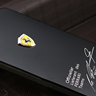 BLACK Ferrari Sports Aluminum Cars Cases Cover Skin Real House for Apple iPhone 4S 4 S