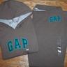 Gap hoodie and pant Brown
