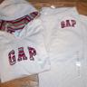 Gap hoodie and pant Beige