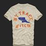 Abercrombie men Beige T-shirt