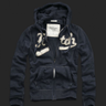 Abercrombie for men navy hoodie jacket