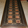Bronze tile coffee table