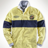 Classic-Fit Golf Crest Rugby