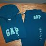 Gap hoodie and pant Teal
