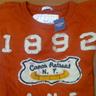 Abercrombie men Orange T-shirt