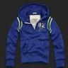 Abercrombie Baker Mountain Blue hoodie